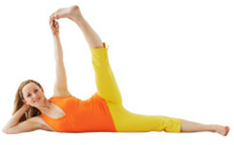 Flexibility Core: Side Reclining Leg Lift