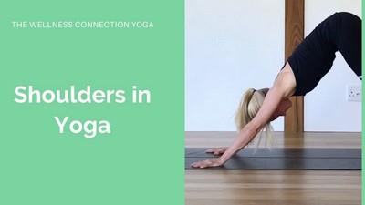 Shoulders in Yoga